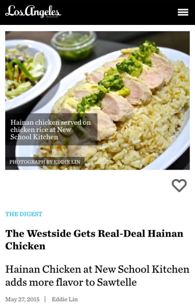 05-27-2015 LA Magazine Hainan Chicken